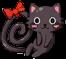 Black Cat Brooch Image