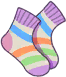 Coloful Socks Image