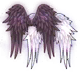 Flapping Angel Wings Series Back Headwear Image