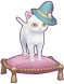 Fluffy Snow Cat Image