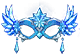 Frost Masquerade Mask Image