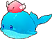 Happy Watering Can Whale Image