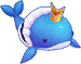 Rainbow Wishing Whale Image