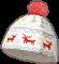 Reindeer Beanie Blueprint Image