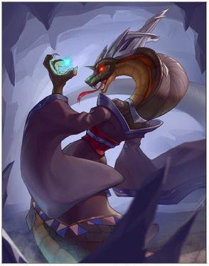Snake Demon Gorgons Card Image