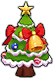 Warm Christmas Tree Image